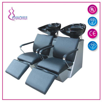 Double seat shampoo chair